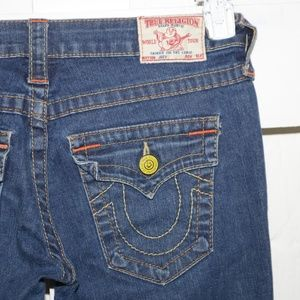 True religion Joey womens jeans size 27 Long  -300